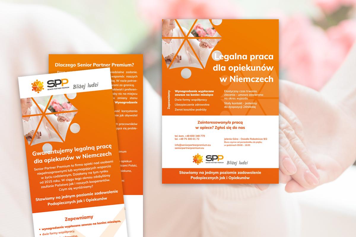 Jelenia Góra Wrocław Ulotki Wizytówki Logo Plakaty